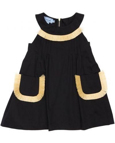 Платье на молнии без рукавов с вырезом Mi.mi.sol.
