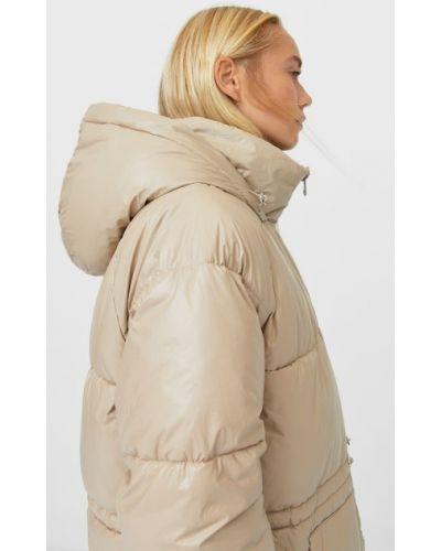 Нейлоновое стеганое пальто Stradivarius