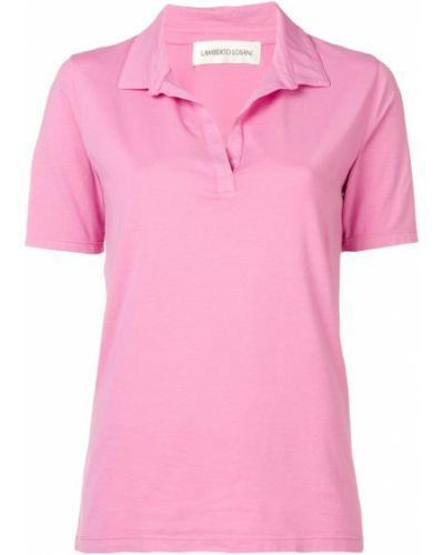Розовая рубашка Lamberto Losani