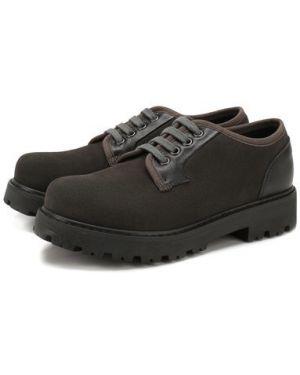 Туфли замшевый текстильные Lanvin