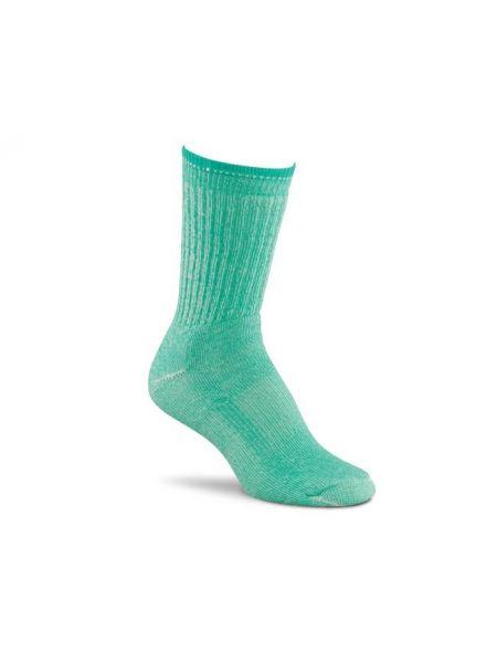 Нейлоновые компрессионные бирюзовые носки Foxriver