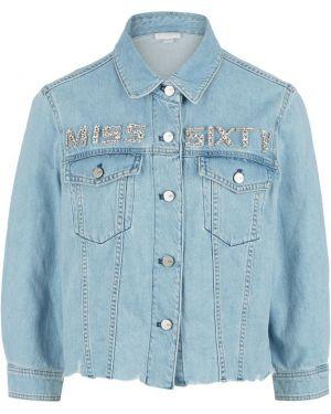 Джинсовая рубашка Miss Sixty