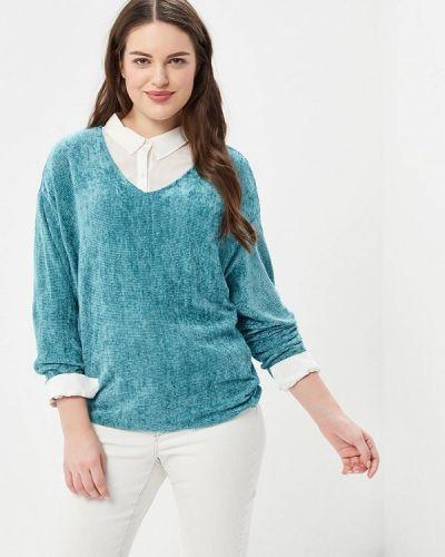 Бирюзовый пуловер Violeta By Mango