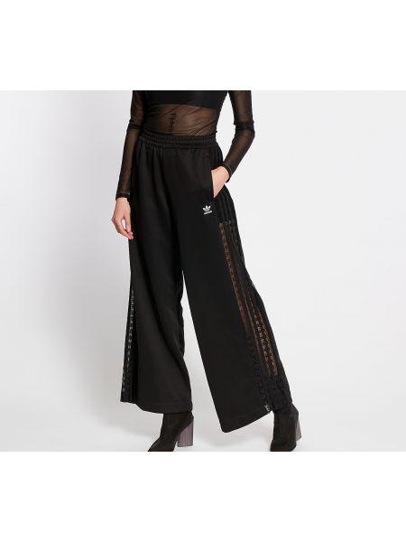 Свободные брюки черные Adidas Originals
