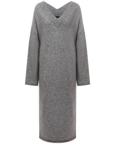 Шерстяное платье - серое Isabel Benenato