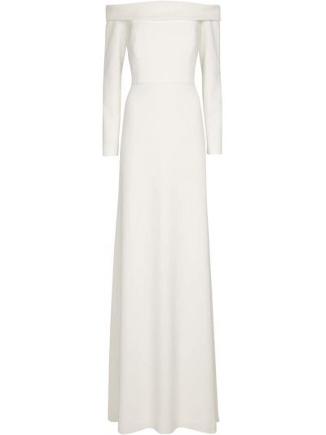 Biała sukienka Max Mara