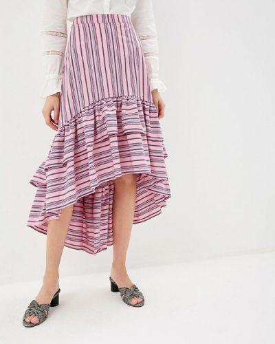 Юбка широкая розовая Silvian Heach