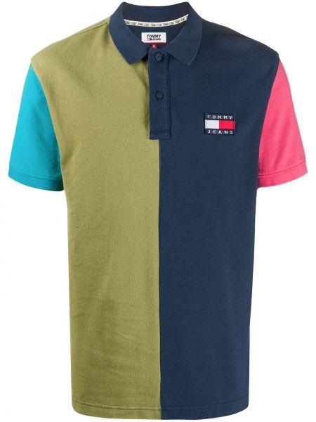 Koszula krótkie z krótkim rękawem klasyczna z logo Tommy Hilfiger