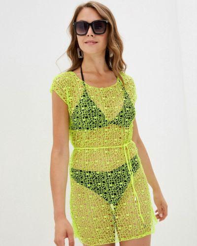 Зеленое пляжное платье Winzor