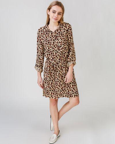 Платье рубашка - бежевое Jennyfer