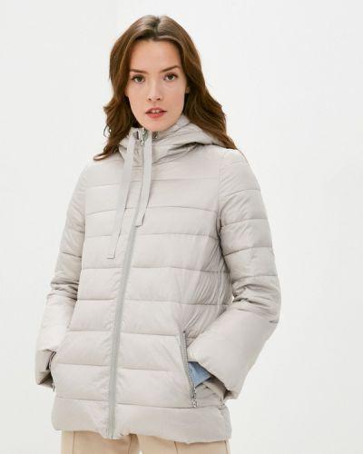 Бежевая теплая куртка Savage