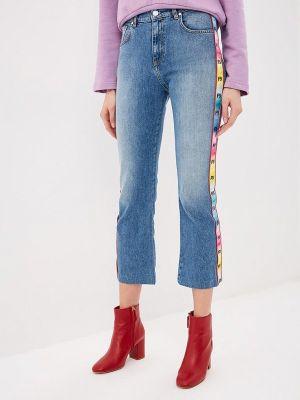 Прямые джинсы синие P_jean