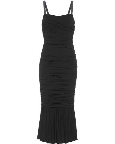 Платье миди шелковое бесшовное Dolce & Gabbana