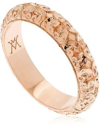 Złoty pierścionek Vanzi