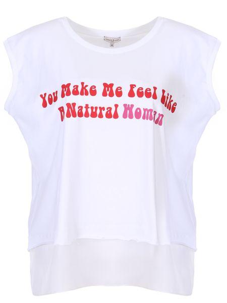 Футбольная свободная футболка со стразами винтажная Natasha Zinko