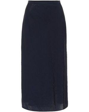 Синяя юбка из вискозы Baum Und Pferdgarten