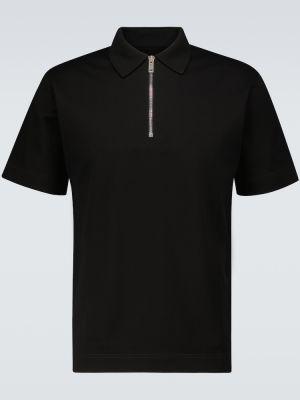 Klasyczna czarna klasyczna koszula bawełniana Givenchy
