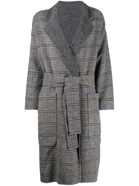Пальто в клетку пальто Twin-set