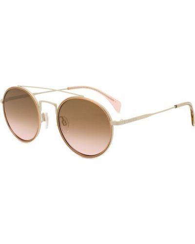 Белые солнцезащитные очки Tommy Hilfiger