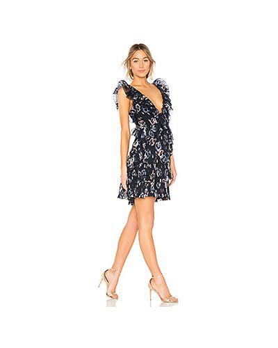 Платье с оборками на молнии Rebecca Taylor