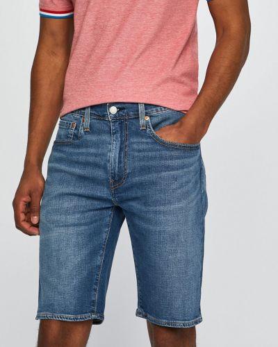 Джинсовые шорты синий коричневый Levi's®