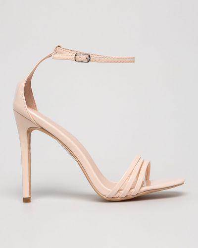 Туфли на каблуке на шпильке бежевый Glamorous
