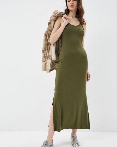 Платье платье-майка зеленый United Colors Of Benetton