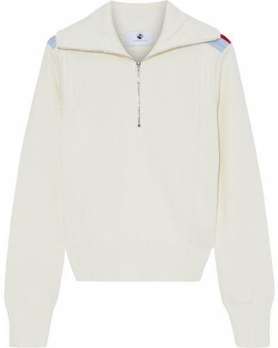 Prążkowany sweter wełniany Cordova