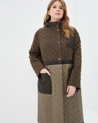 Пальто демисезонное зеленое Gamelia