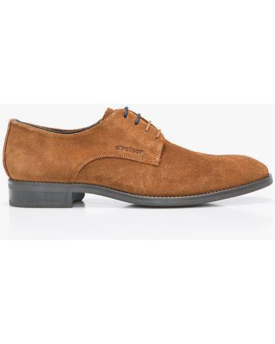 Коричневые туфли Strellson