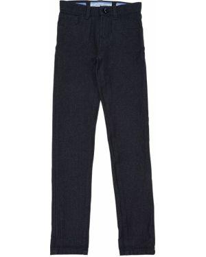 Синие джинсы стрейч с заплатками Jacob Cohen