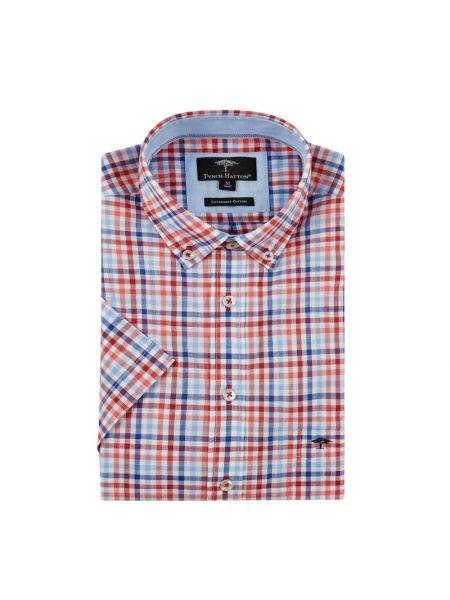 Koszula krótkie z krótkim rękawem z kołnierzem puchaty Fynch-hatton