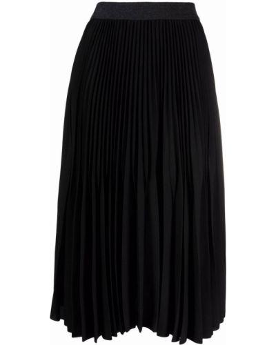 Черная плиссированная юбка Fabiana Filippi