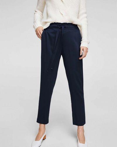 Свободные брюки с карманами из вискозы Mango