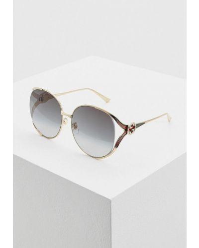 Солнцезащитные очки 2019 круглые Gucci