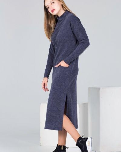Теплое платье платье-сарафан из вискозы Victoria Filippova