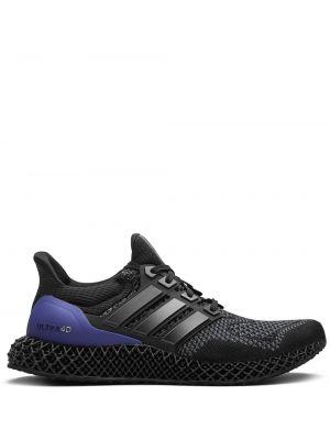 Нейлоновые кроссовки - черные Adidas
