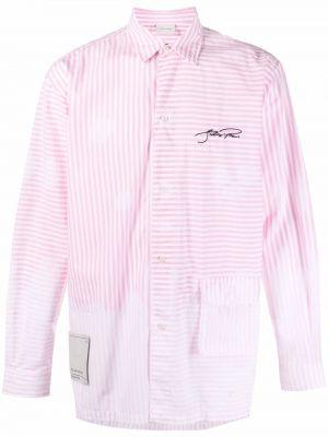 Рубашка в полоску - розовая Filling Pieces