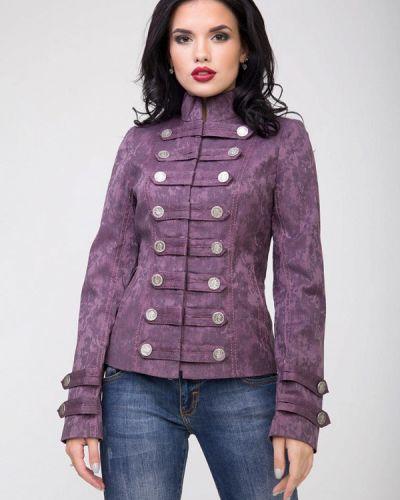 Фиолетовая куртка Sergio Cotti