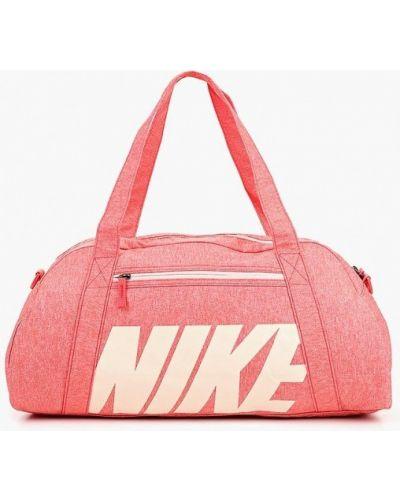 Розовая спортивная сумка Nike