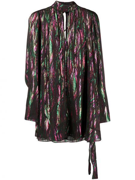 Платье трапеция длинное Saloni
