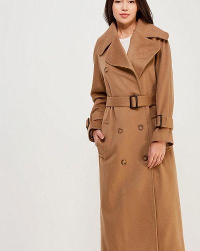 Пальто демисезонное бежевое Soeasy