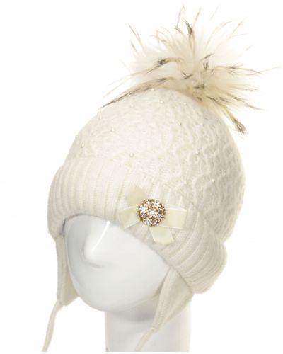 Зимняя шапка белый Totti