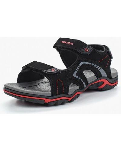 Черные сандалии Patrol