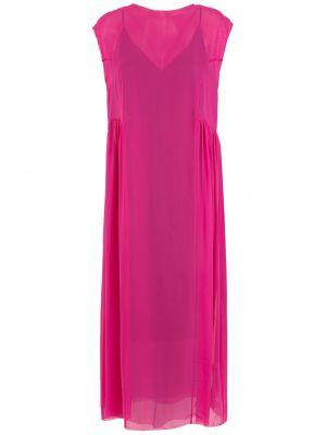 Платье миди - розовое Osklen