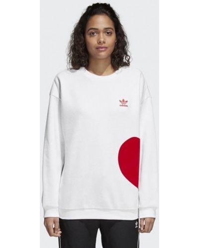 Белая толстовка Adidas Originals