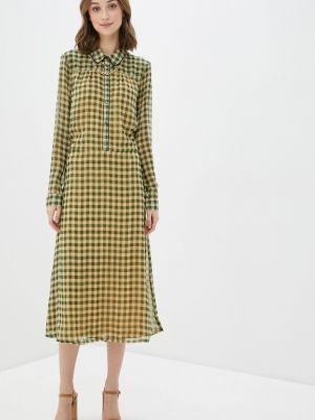 Платье прямое зеленый Blendshe
