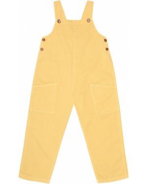 Синие брюки-бананы Caramel