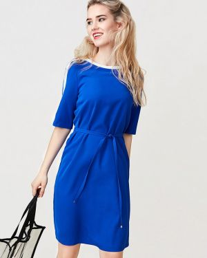 Платье - синее Pompa