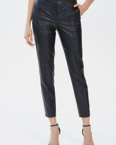 Кожаные черные брюки Moru